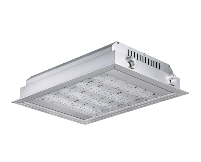 High efficiency 160w ATEX gas station lights for sale