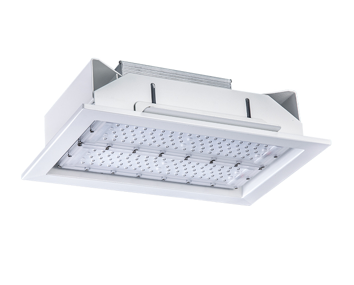 Modular design 100w Recessed led canopy fixture