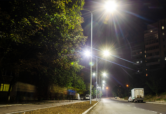 LED Street Light in Ukraine