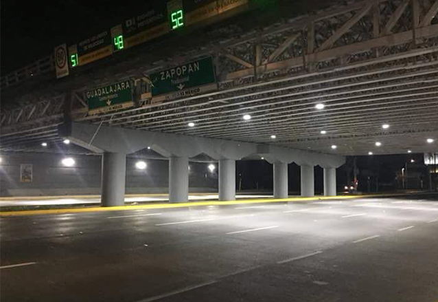 LED Tunnel Light in Mexico